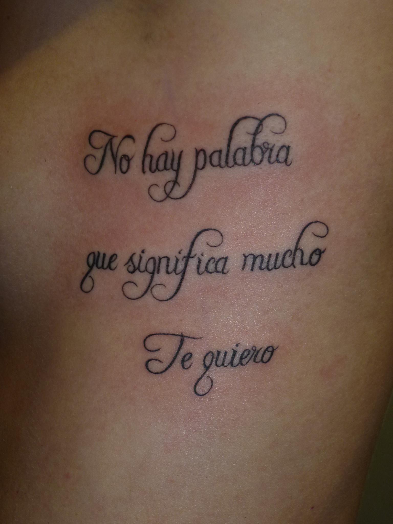 Tattoo Teksten Famil